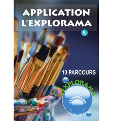 Application L'Explorama - 10 parcours